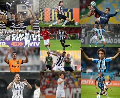 714000bda5 Bola da Prata da Placar  Veja quem foram considerados os melhores jogadores  do brasileirão