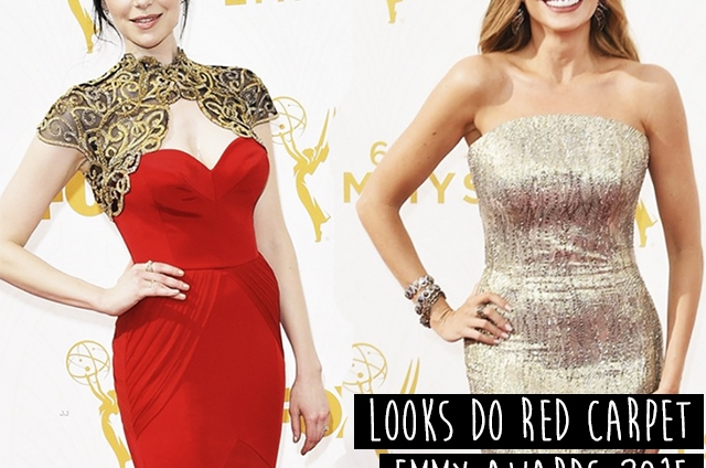 TUDO DE MODA no Red Carpet do Emmy Awards 2015